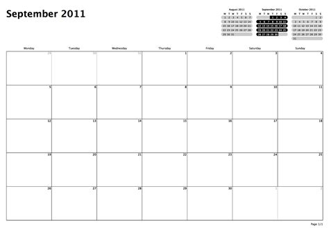 Calendar 3 Month View Printable Philofaxy Monthly View Calendars