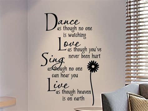 25 best bedroom wall quotes on pinterest picture heart photos loving life with inspirational vinyl wall art