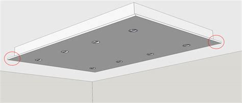 dropped ceiling light box how to build a lighting box