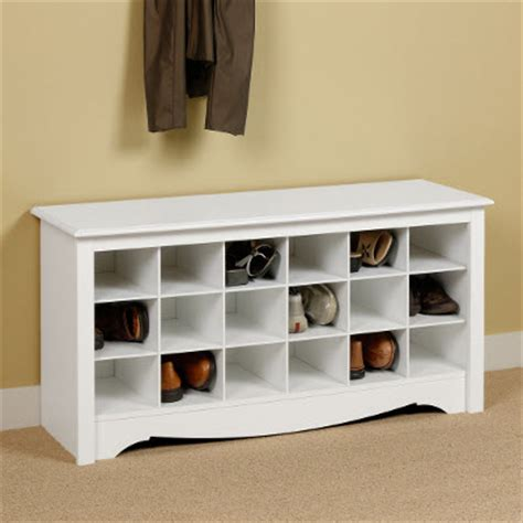 entryway 48 quot cubbie shelf smart furniture