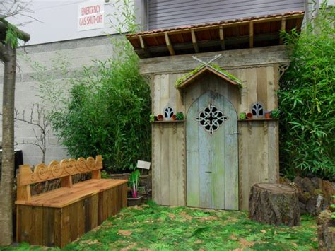 Garden Sheds Portland Oregon by Garden Shed Eclectic Landscape Portland By Plan It