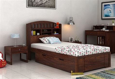 single bed for single beds buy wooden single bed india upto 60