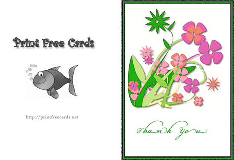 printable thank you card from child free kids thank you cards free printable children s thank