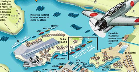 remembering the pearl harbor attack of 1941 infographic
