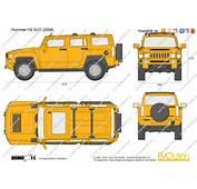 The Blueprintscom  Vector Drawing Hummer H3