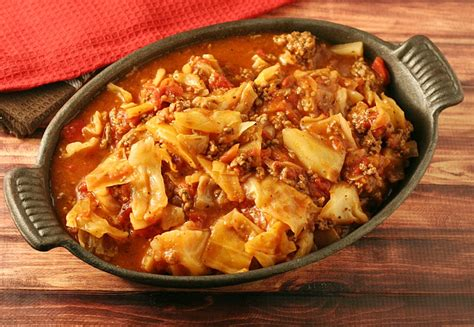 unstuffed cabbage roll casserole sundaysupper yours and mine are ours