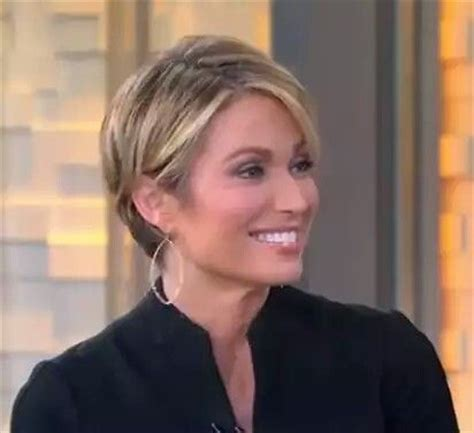 amy robach short hairstyle pic amy robach good morning america and good morning on pinterest