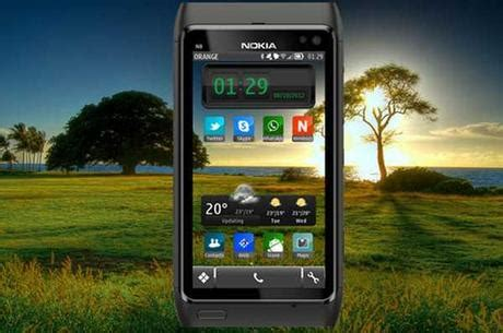 hd themes download for symbian sunset hd symbian theme per smartphone nokia symbian 3