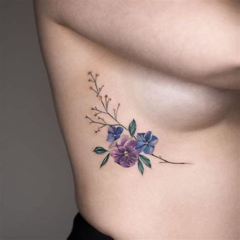 wild flower tattoo designs wildflower ideas popsugar photo 8
