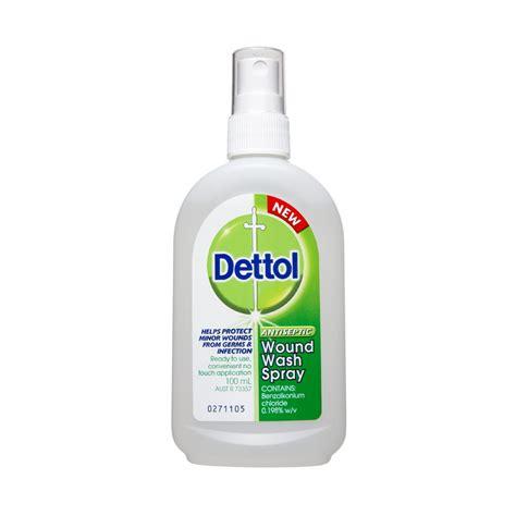 Dettol 100ml buy wound wash spray 100 ml by dettol priceline