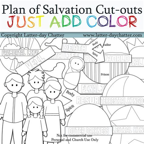 plan of salvation just add color