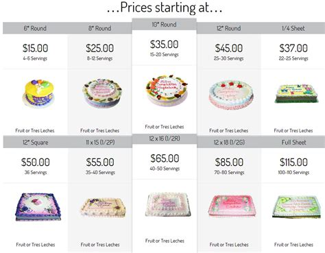Torten Preise by Price Of Cakes 28 Images Fondant Cake Price Chart