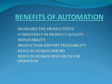 benefits of home automation benefits of industrial automation