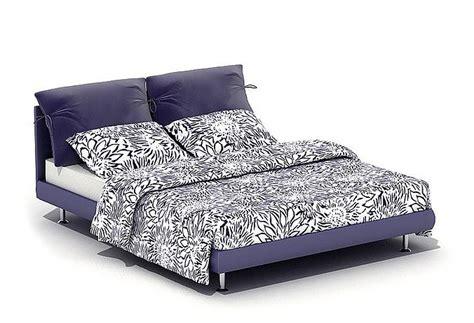 futon sof 3d sof violet bed cgtrader