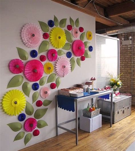 Paper Craft Ideas For Decoration - 25 best ideas about office birthday decorations on