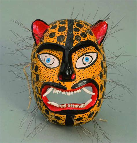 Masker Animal tigre mask mexico masker masking mexican and exhibitions