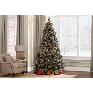 d b 7 5 buchanan pine pre lit christmas tree sears