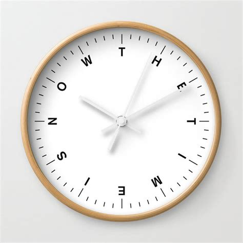 design milk clock time to spring forward with society6 design milk
