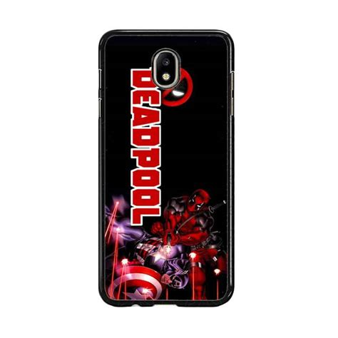 Lihat Harga Hp Samsung J7 Pro jual acc hp deadool wallpaper e0018 custom casing for