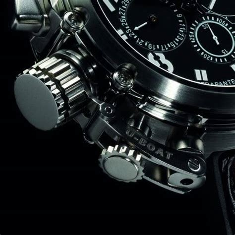 u boat watch most expensive u boat u 51 rattrapante complicated watch an lified