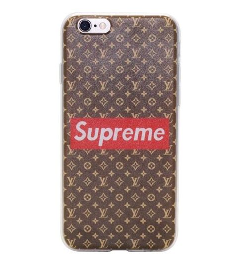 Iphone Casing Lv Supreme White 6 7 8 X supreme x louis vuitton iphone phonejelly