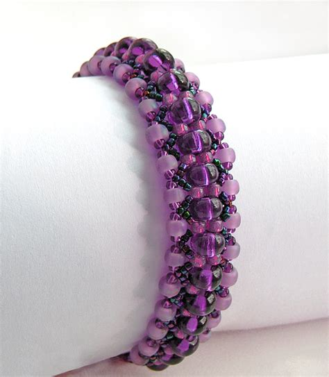 Handmade Bracelet Patterns - free beading pattern 1 and more