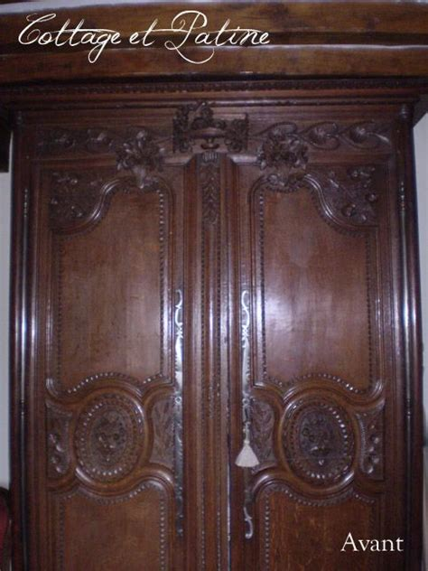 relooker une armoire en bois 17 meilleures id 233 es 224 propos de armoire normande sur cuisine parisienne