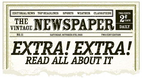 best photos of old newspaper template editable old