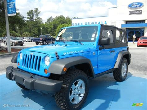 blue rubicon jeep 2011 cosmos blue jeep wrangler rubicon 4x4 65970478
