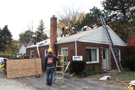 giving back korean war veteran gets new roof the blade