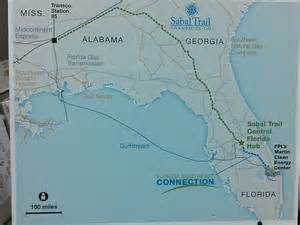 sabal trail pipeline context maps spectra energy and fpl