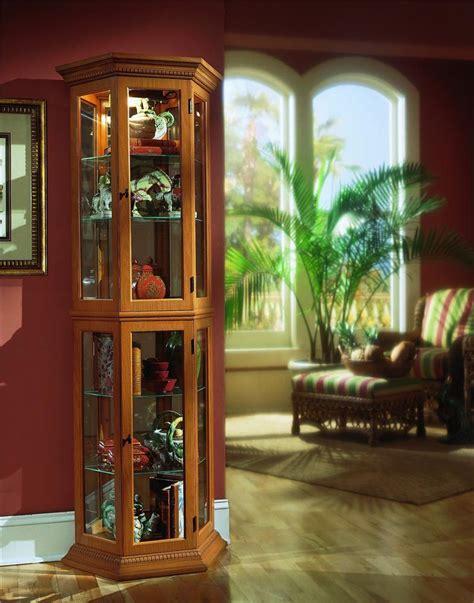 Pulaski Oak Curio Cabinet by Pulaski Furniture Curios Oak Ii Curio Olinde S