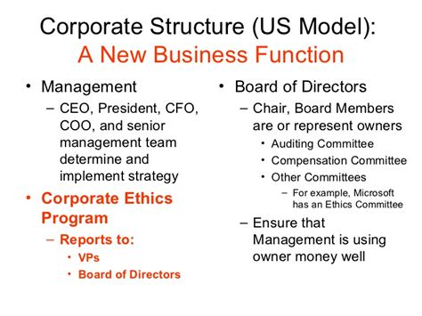 Mba Degree Business Ethics And Corporate Governance by Business Ethics And Corporate Governance 2