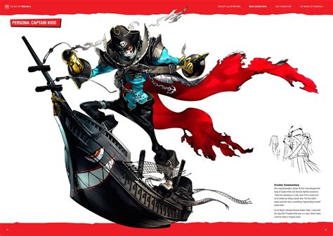 the art of persona 5 preview pages new november 3 2017 release date persona central