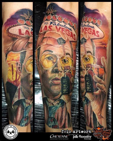 tattoos in vegas fear and loathing in las vegas left lower arm