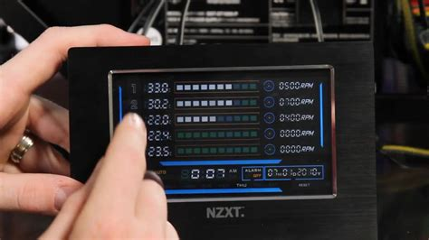 pc fan controller review nzxt sentry lxe fan controller review pc perspective