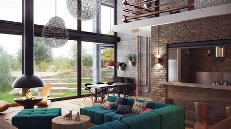loft style house industrial lofts