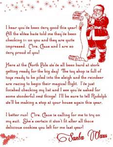 on the shelf letter from santa template letter from santa printable free pins