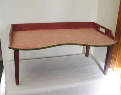 bed desk tray vintage primitive folding bed tray lap desk