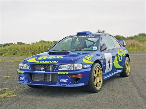 subaru sti rally car 1996 subaru impreza wrc97 rally car sports car market