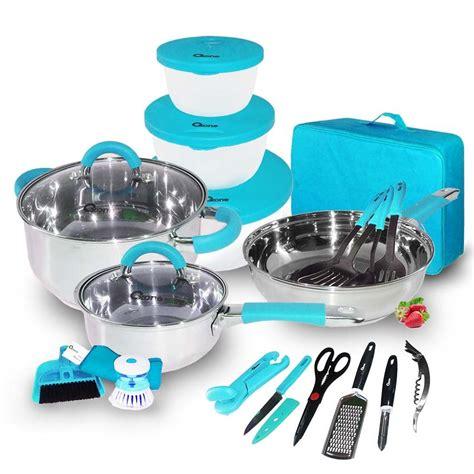 Oxone Ox ox 992 panci oxone 23pcs travel cookware set raja perabotan