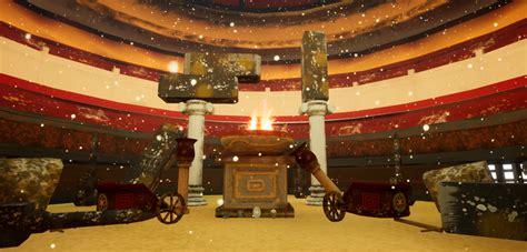 gladiator arena  alexbushga  sfasx environment art