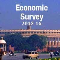 economic survey of india 2015 16 highlights