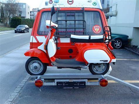 Motorrad Gegen Vw Bus by Motorroller Transport Im Inennraum Interieur Vwbusforum Ch