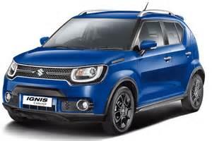 Suzuki Company Suzuki 2016 Ignis Suzuki S Ignis Nears Goauto