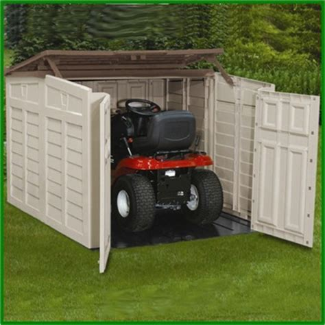 Lawn Tractor Shed by Just Sheds Reviews Lawn Tractor Shed Designs How To Make