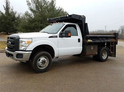 Used Ford F350 by Ford F350 Dump Trucks For Sale 294 Used Trucks From 2 969