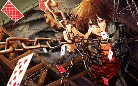 wallpaper cool boy anime poker anime boy wallpaper dreamlovewallpapers