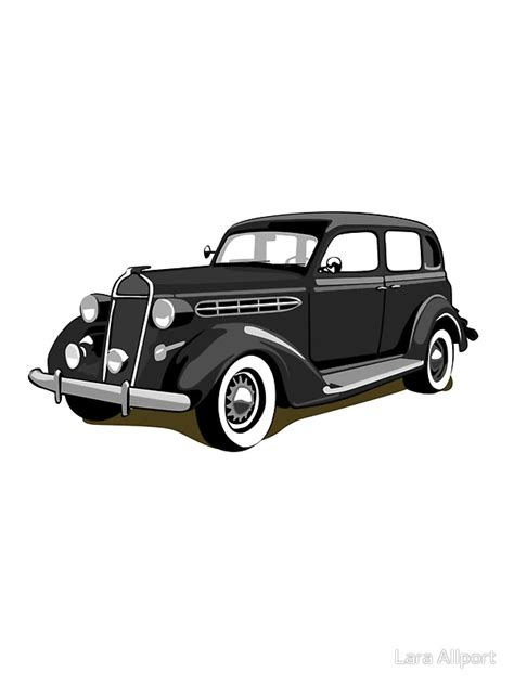 Gangster Auto by Quot Chrysler Gangster Car Quot Stickers By Lara Allport Redbubble