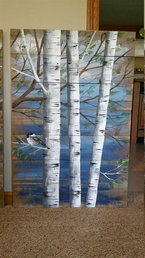 tree painted on wood ideas 1000 ideas about pallet wall hangings on paint pallets wall hanging shelves and